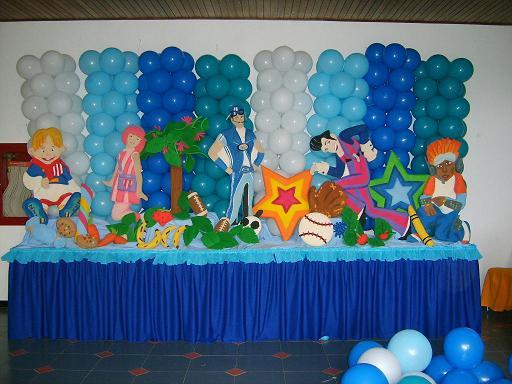 decoracin de globos para fiestas
