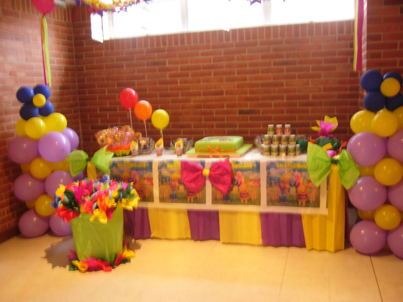 Decoraci n de fiestas bogota recreaci n infantil for Decoracion de eventos